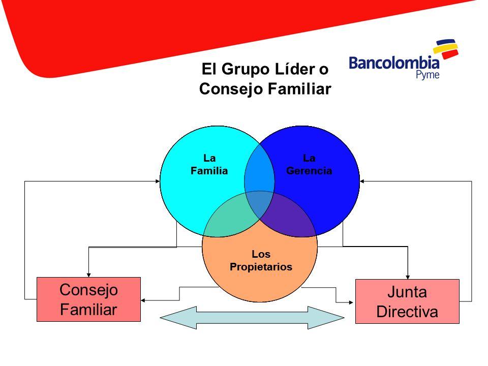 La Familia La Gerencia Los Propietarios Consejo Familiar Junta Directiva El Grupo Líder o Consejo Familiar La Familia La Gerencia La Familia La Gerenc