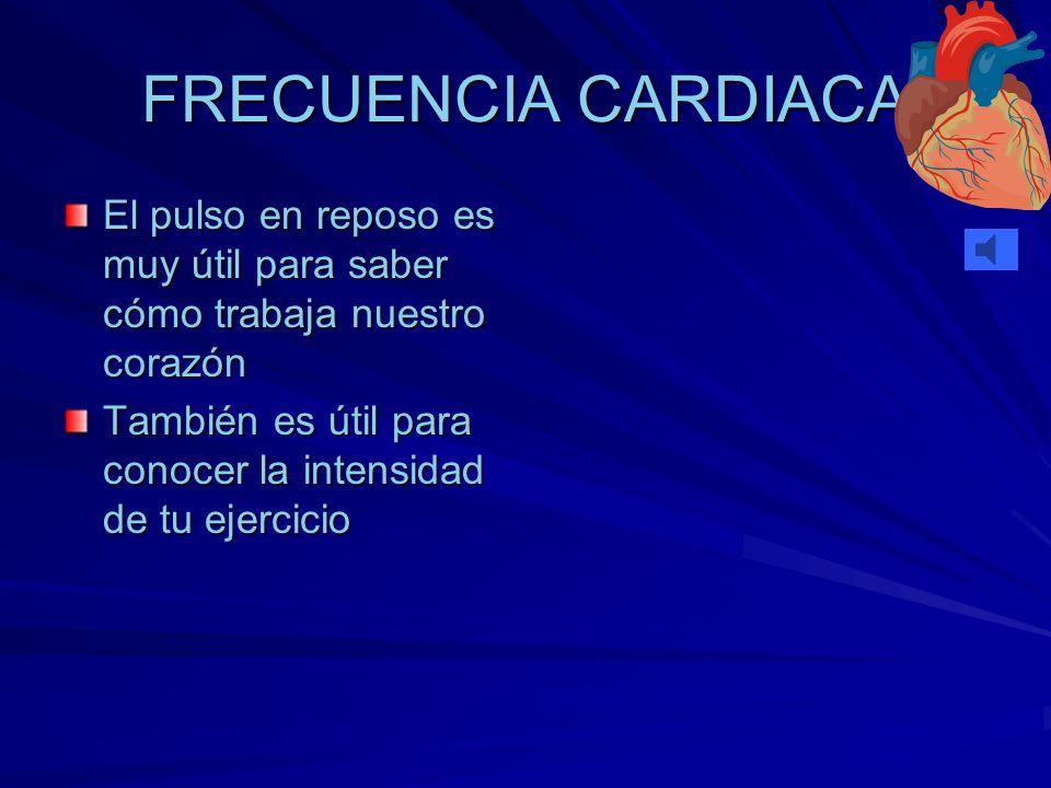 ¿CÓMO PODEMOS CONTROLAR LA INTENSIDAD? A través de las pulsaciones Podemos encontrarlas en cualquier arteria pero es más común hacerlo en la arteria c