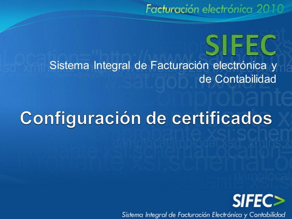 Sistema Integral de Facturación electrónica y de Contabilidad