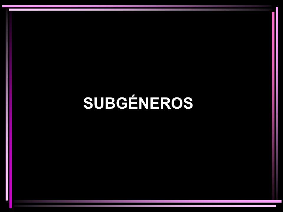 SUBGÉNEROS