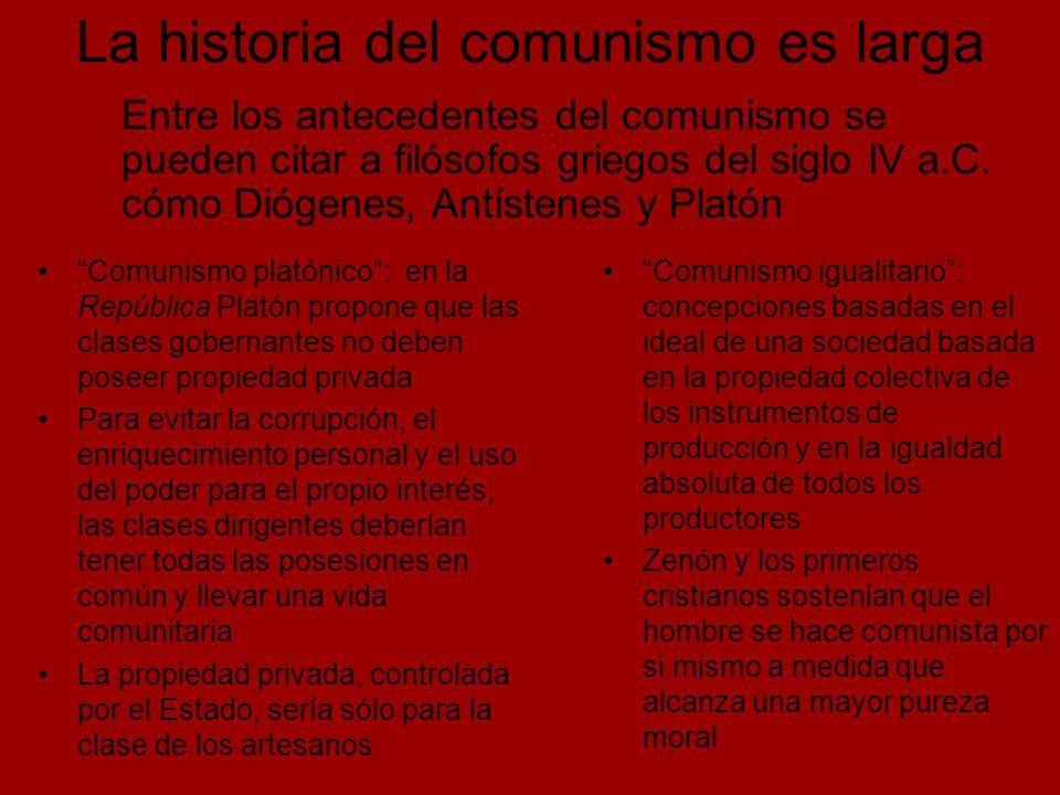Estalinismo: versión totalitaria y nacionalista Desarrolló un fuerte centralismo jerárquico en el partido y en el gobierno de la URSS Política de represión de cualquier disensión: purgas, juicios, deportaciones, gulag (campos de trabajo) Trotskismo: su motor teórico y político son el Programa de Transición y la Teoría de la Revolución Permanente Busca reencauzar el proceso revolucionario soviético Trotsky no aceptó el término: se consideraban bolchevique-leninistas o comunistas internacionalistas