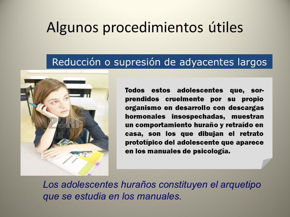 Algunos procedimientos útiles 07/11/201311 Supresión de datos y cifras EL COSTE DE LA VUELTA AL COLEGIO En los centros públicos no hay gastos de matrí