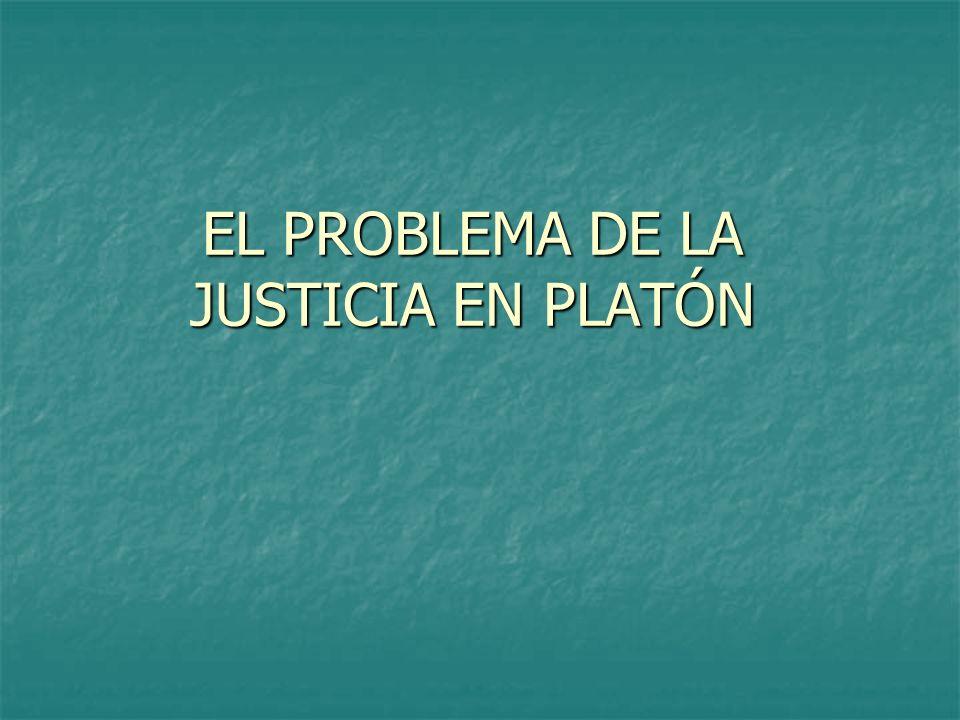 La tesis de Platón Existen tres funciones esenciales en toda polis: subsistencia, defensa y gobierno.