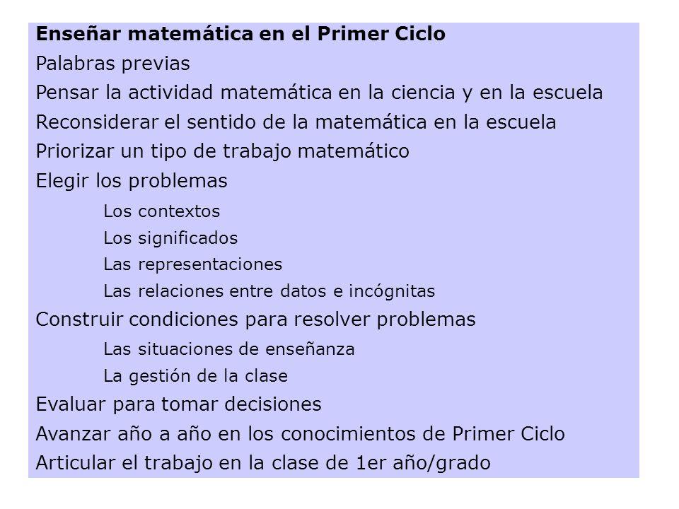 SABER MATEMÁTICA * No es solamente saber definiciones y teoremas para reconocer la ocasión de utilizarlos y de aplicarlos.