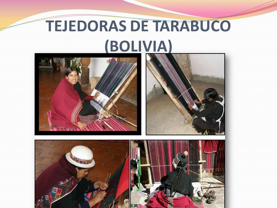 TEJEDORAS DE TARABUCO (BOLIVIA)
