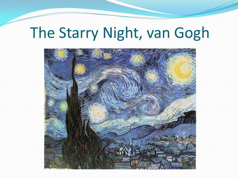 The Starry Night, van Gogh