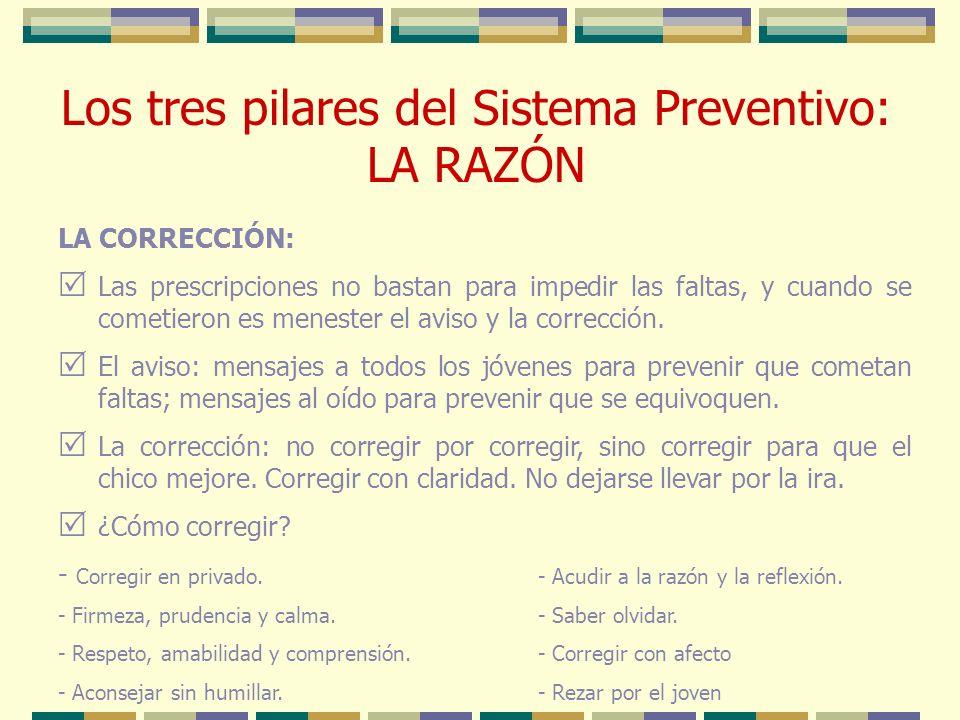LA CORRECCIÓN: Las prescripciones no bastan para impedir las faltas, y cuando se cometieron es menester el aviso y la corrección. El aviso: mensajes a