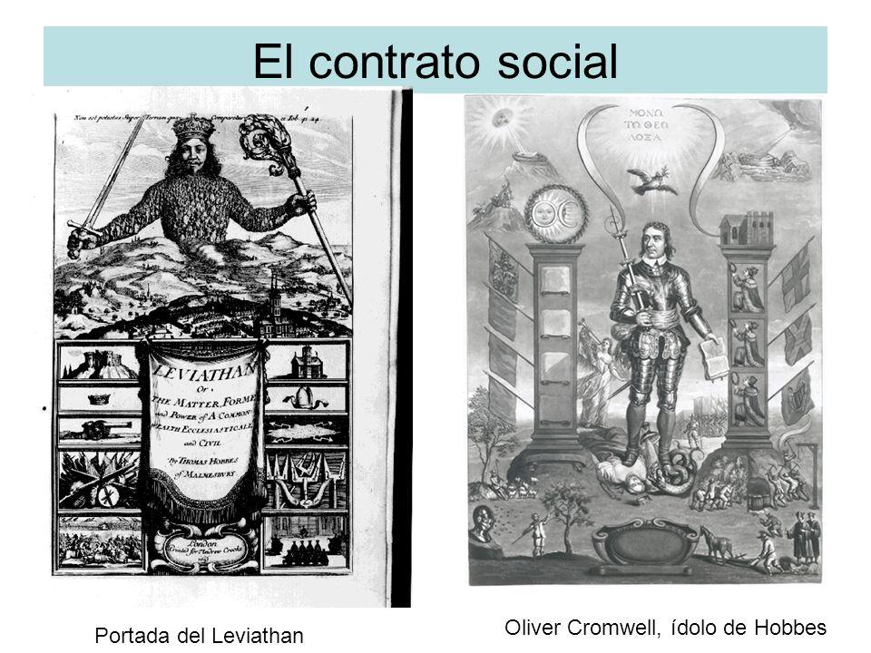 El contrato social: Hobbes.Estado de naturaleza: Problemático.
