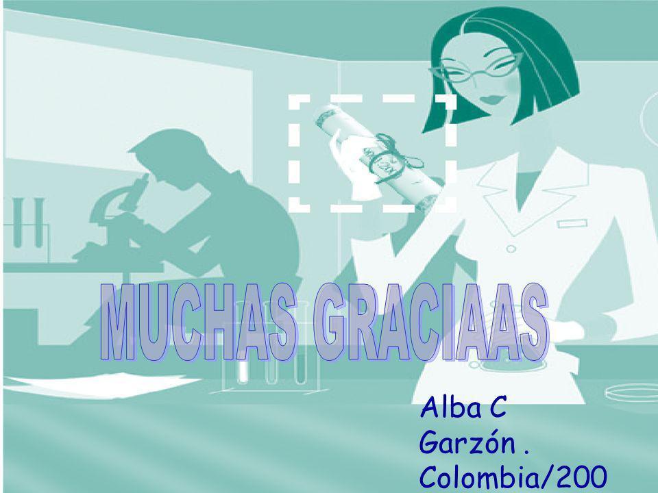 Alba C Garzón. Colombia/200 6