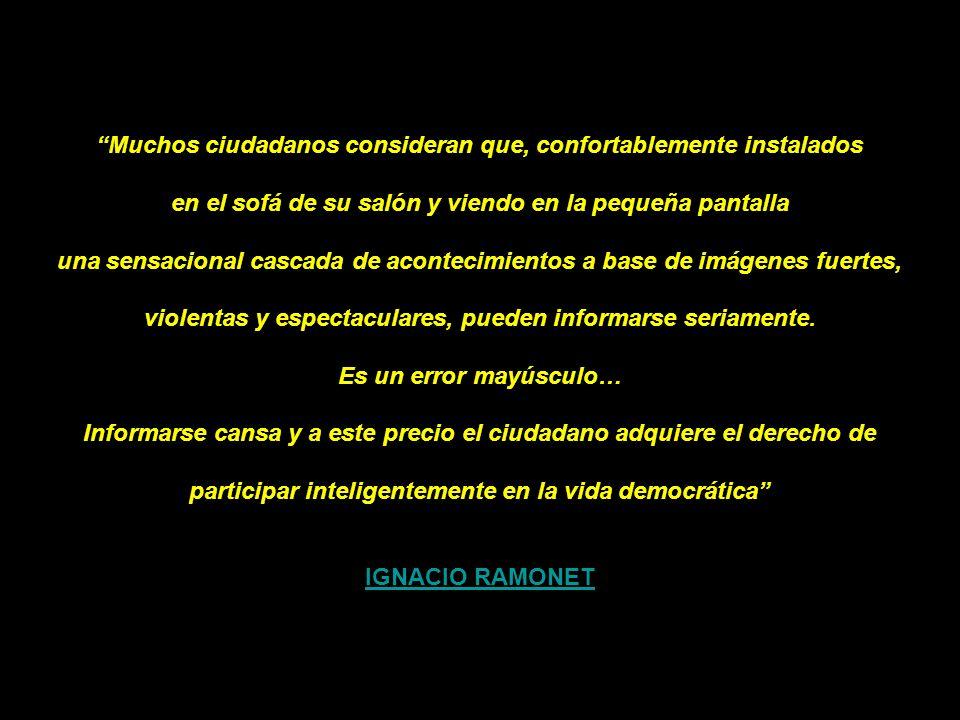 IGNACIO RAMONET PENSAMIENTO UNICO Y NUEVOS AMOS DEL MUNDO