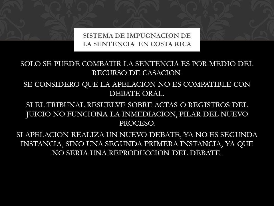 SE ESTABLECIO ESTA OLIGACION EN EL CASO EKBATANI SENTENCIA DE 26 DE MAYO DE 1988.