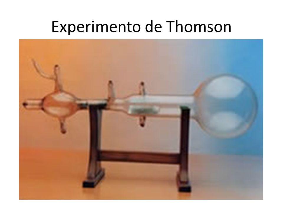 LOS ÁTOMOS NO SON INDIVISIBLES Los átomos tienen partículas negativas Puesto que son neutros también tienen partículas positivas(protones).