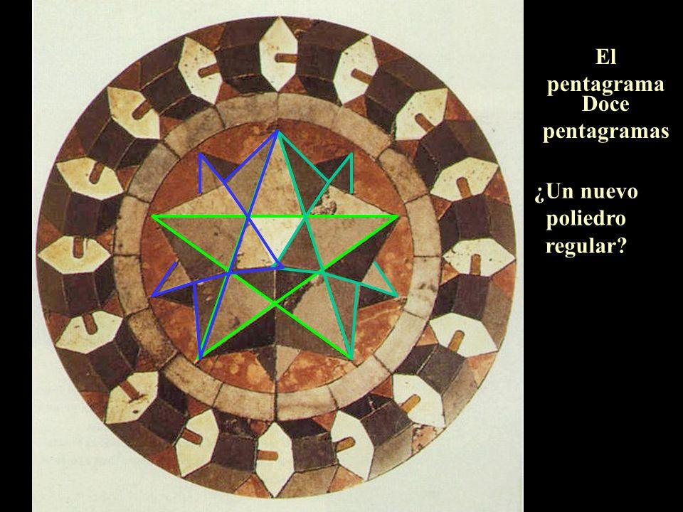 El pentagrama Doce pentagramas ¿Un nuevo poliedro regular?