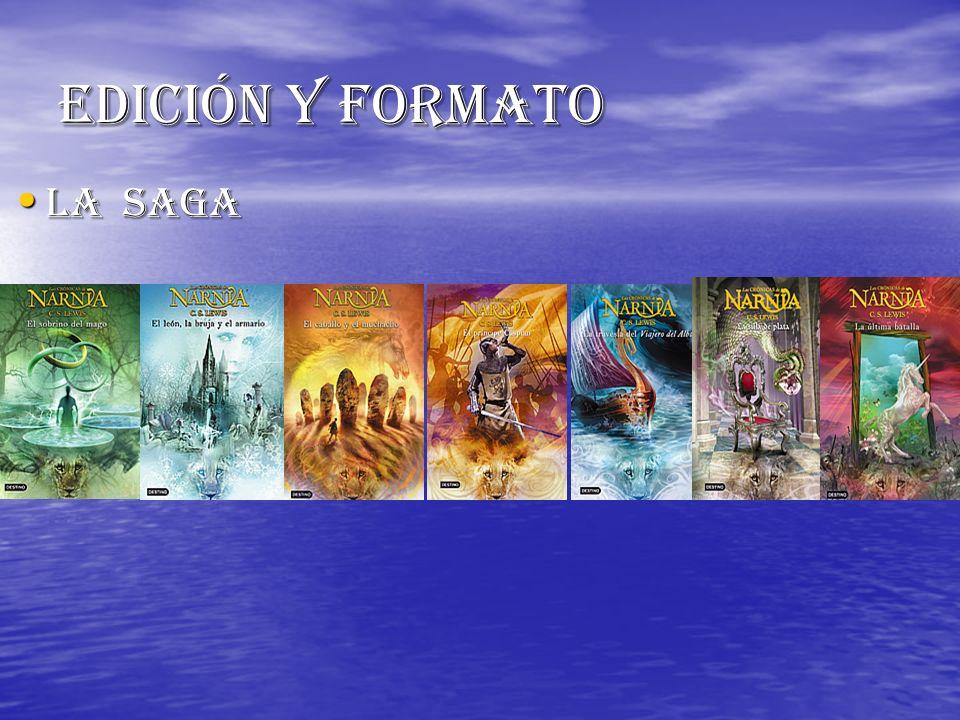 Edición y formato La saga La saga