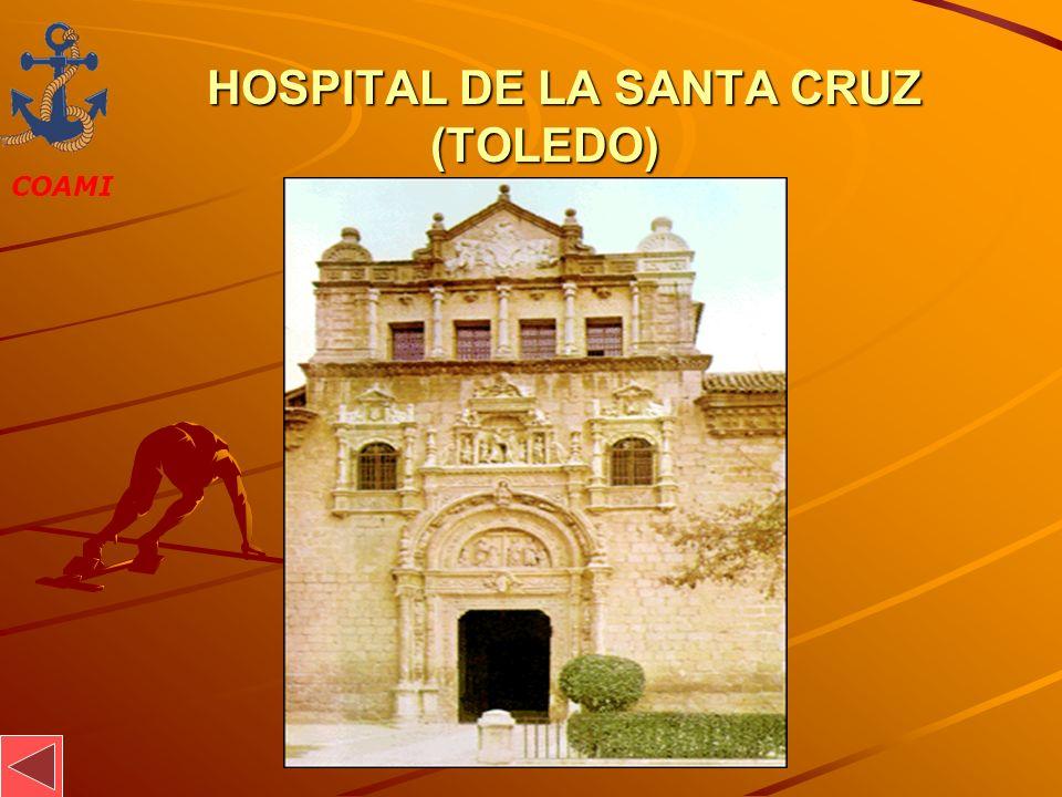 COAMI JOSÉ MIGUEL GARCÍA HOSPITAL DE LA SANTA CRUZ (TOLEDO) HOSPITAL DE LA SANTA CRUZ (TOLEDO)