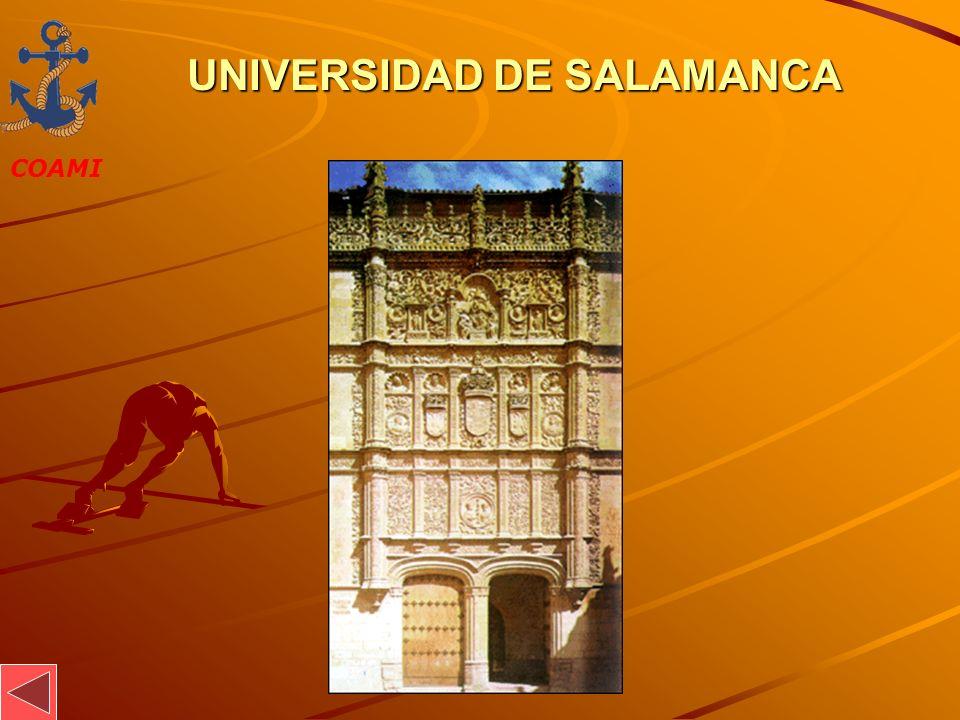 COAMI JOSÉ MIGUEL GARCÍA UNIVERSIDAD DE SALAMANCA