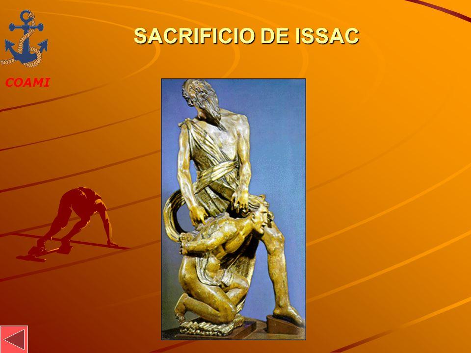 COAMI JOSÉ MIGUEL GARCÍA SACRIFICIO DE ISSAC SACRIFICIO DE ISSAC