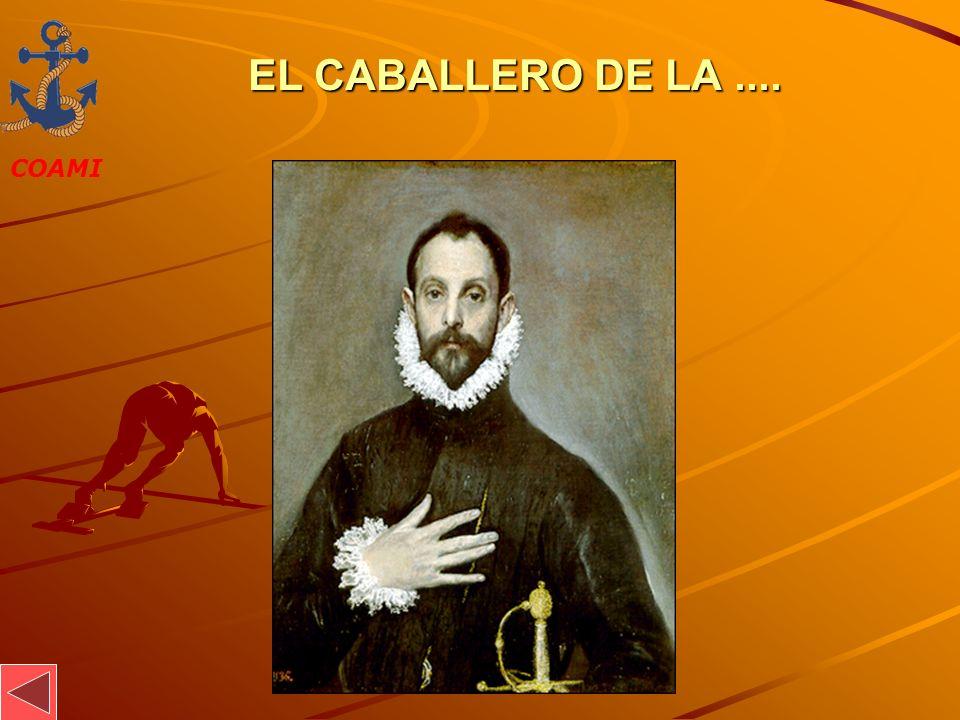 COAMI JOSÉ MIGUEL GARCÍA EL CABALLERO DE LA....