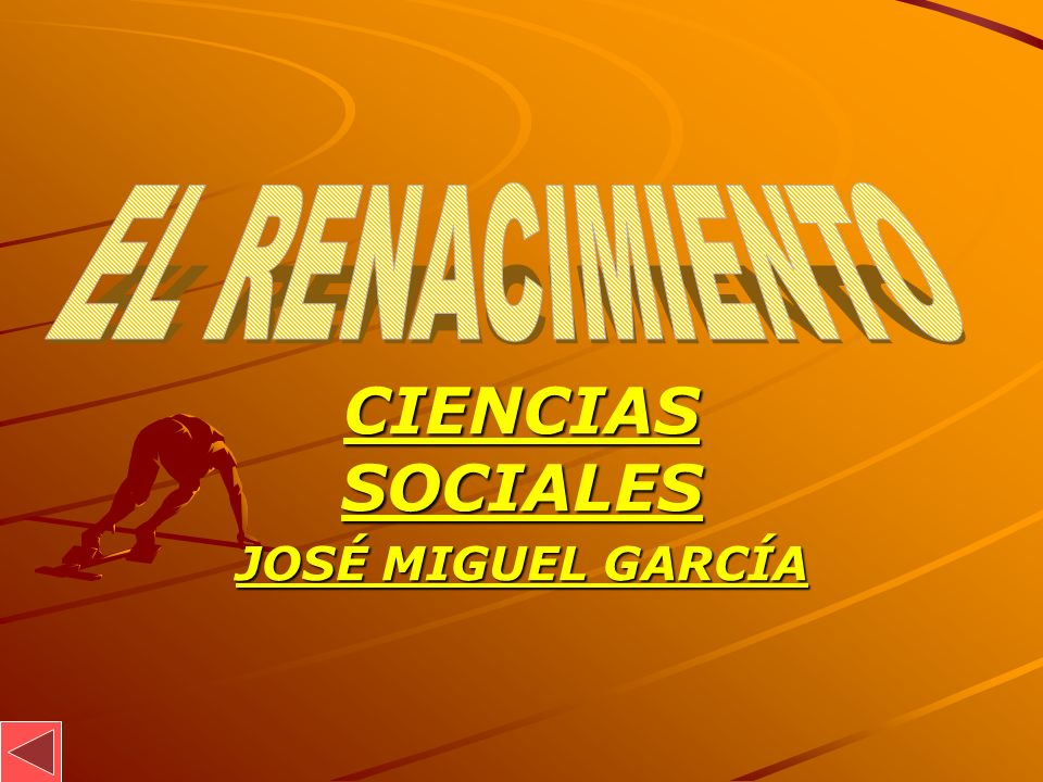 CIENCIAS SOCIALES JOSÉ MIGUEL GARCÍA