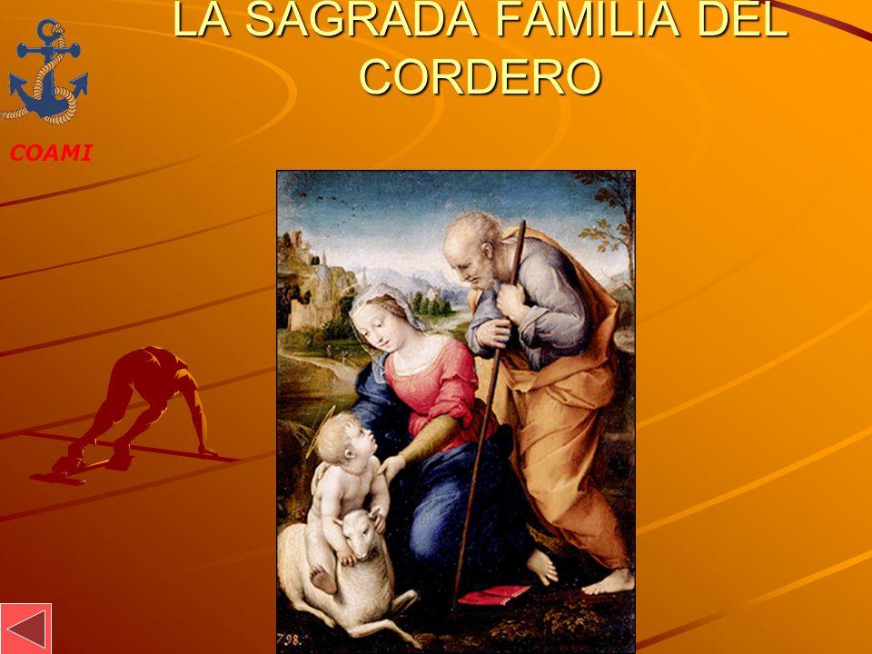 COAMI JOSÉ MIGUEL GARCÍA LA SAGRADA FAMILIA DEL CORDERO