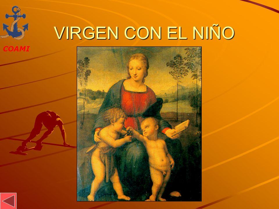 COAMI JOSÉ MIGUEL GARCÍA VIRGEN CON EL NIÑO