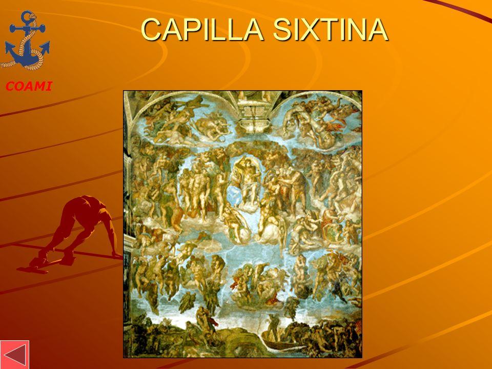 COAMI JOSÉ MIGUEL GARCÍA CAPILLA SIXTINA