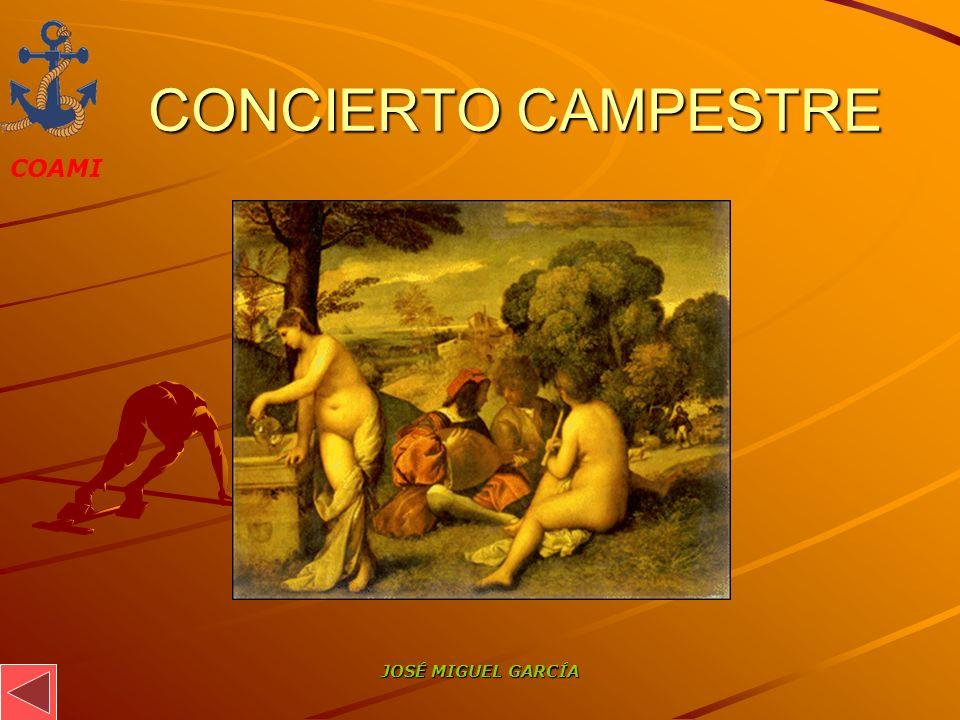 COAMI JOSÉ MIGUEL GARCÍA CONCIERTO CAMPESTRE