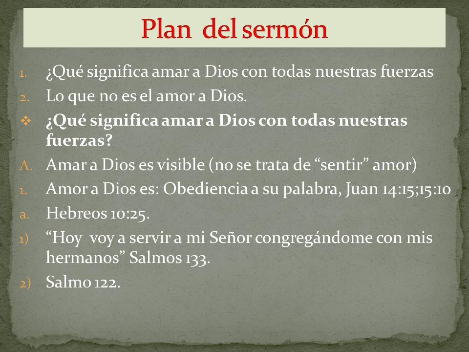 2.Amor a Dios es: Ser trabajador. a. Romanos 12:11; Colosenses 3:23.