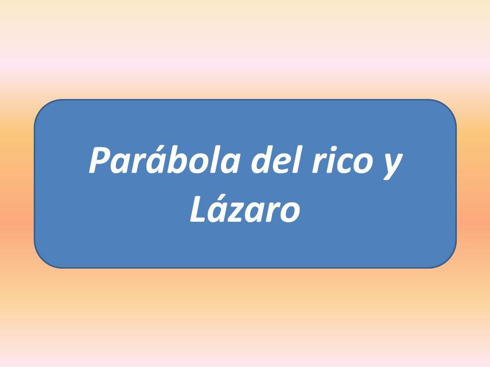 La parábola del rico y Lázaro, a sido interpretada de muchas maneras, por lo tanto, para entender su significado debemos hacer lo siente.
