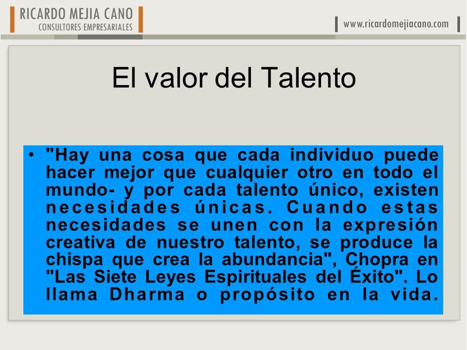 El valor del Talento
