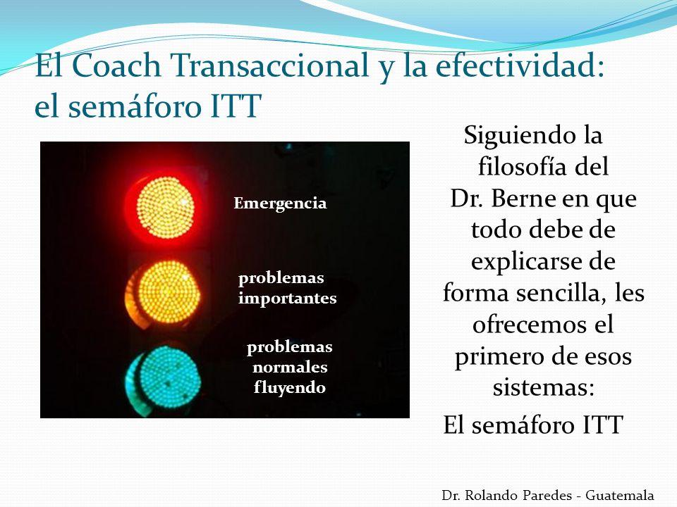 Dr. Rolando Paredes - Guatemala Siguiendo la filosofía del Dr. Berne en que todo debe de explicarse de forma sencilla, les ofrecemos el primero de eso