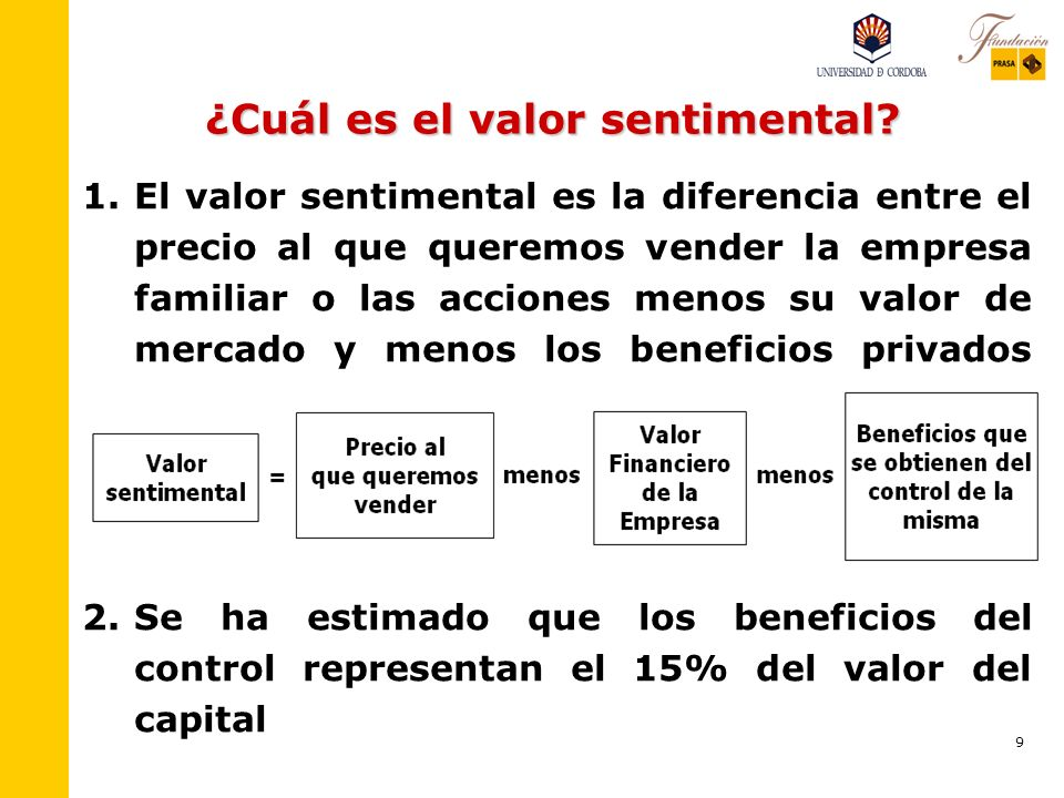 9 ¿Cuál es el valor sentimental.1.