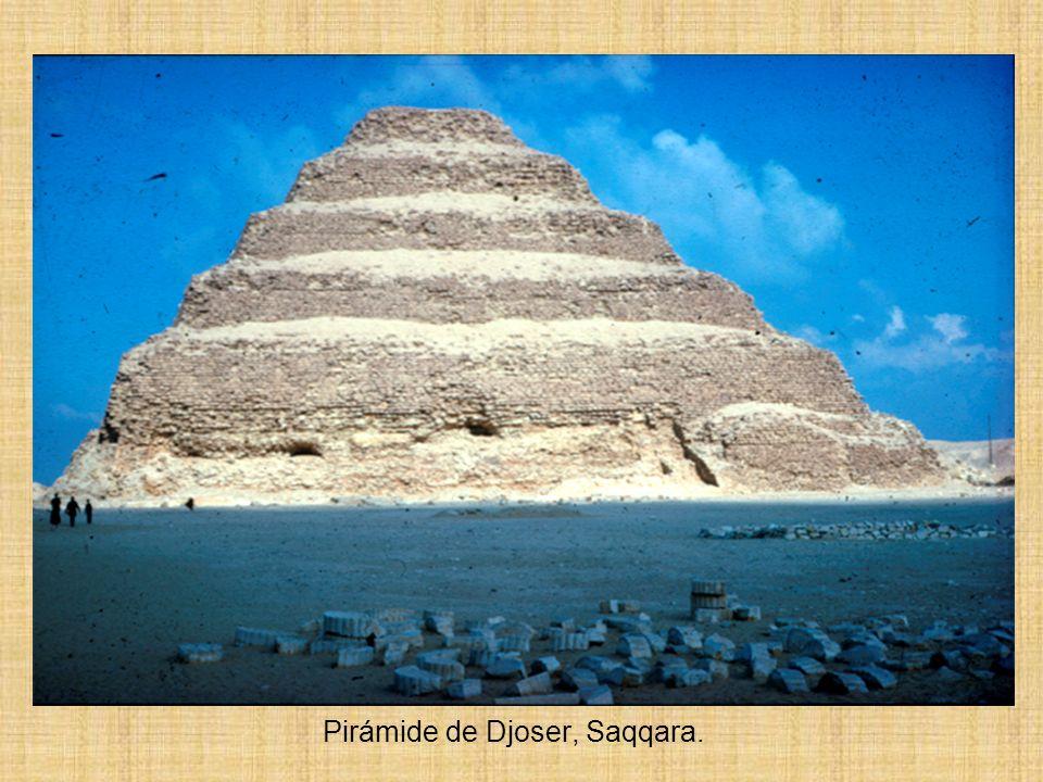 Pirámide de Djoser, Saqqara.