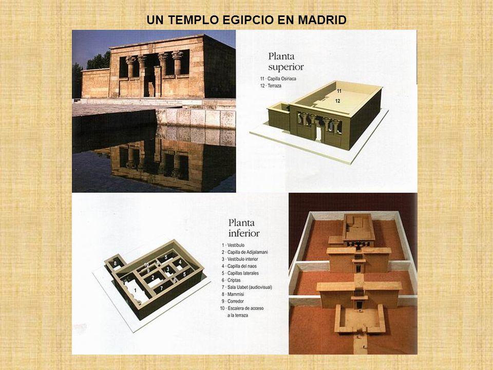 UN TEMPLO EGIPCIO EN MADRID