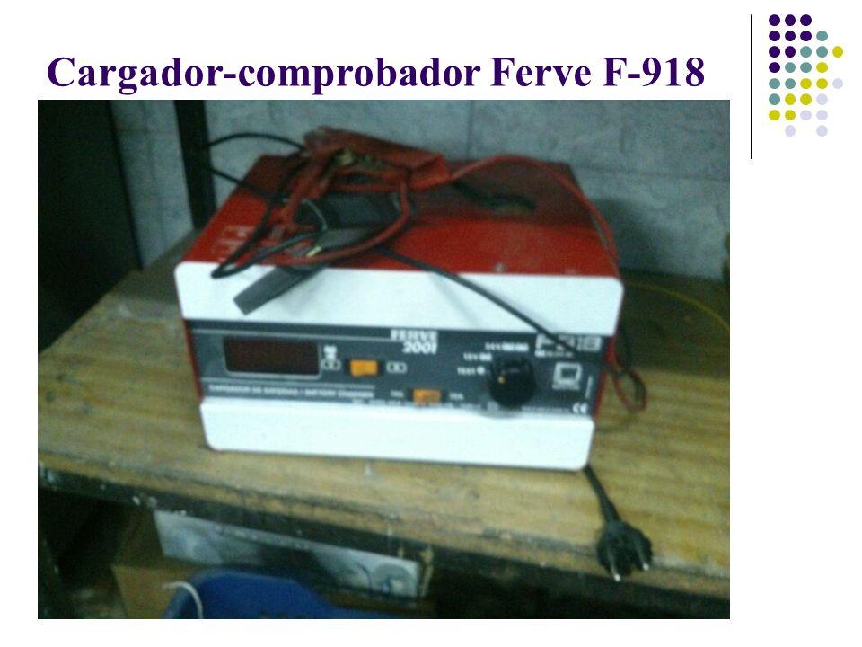 Cargador-comprobador Ferve F-918