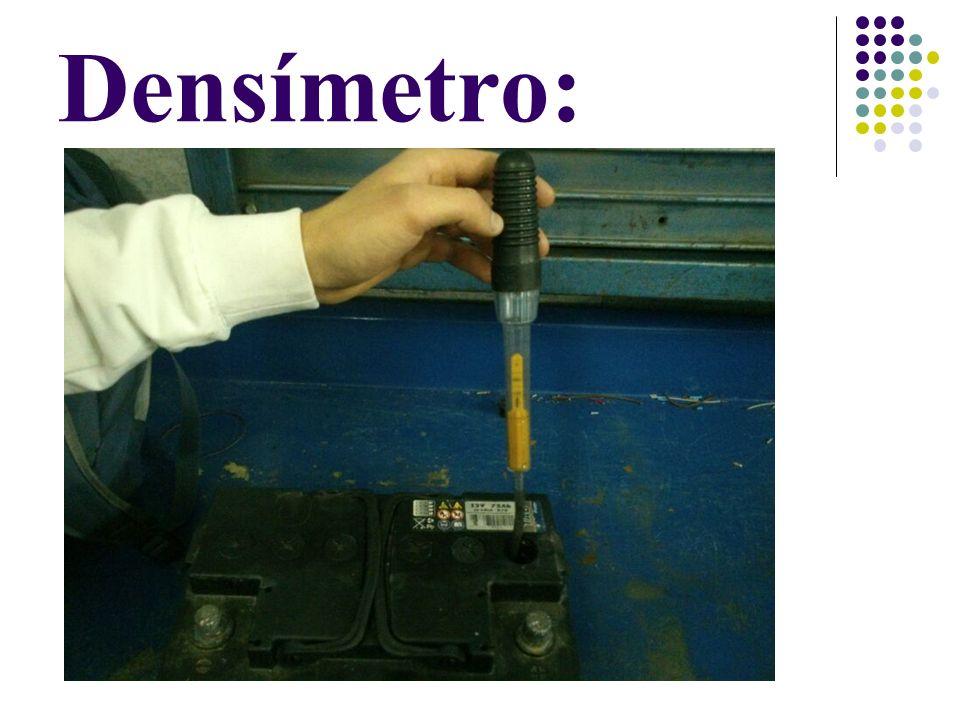 Densímetro: