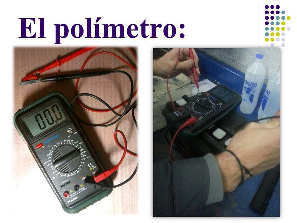 El Voltímetro: Con el voltímetro en la escala de 20v para medir baterías de 12 voltios solo podemos saber el estado de carga que tiene esa batería, su diferencia de potencial, pero con ello no sabemos el estado de la batería, no podemos saber su capacidad.