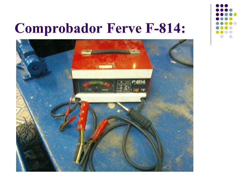 Comprobador Ferve F-814: