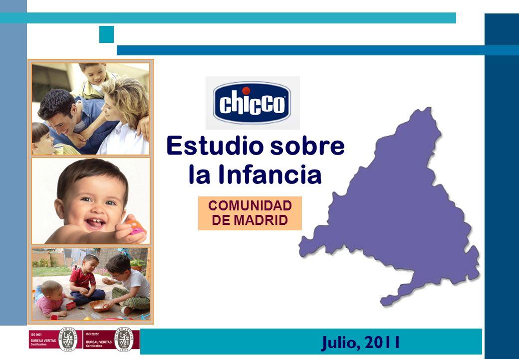 COMUNIDAD DE MADRID Estudio sobre la Infancia Julio, 2011