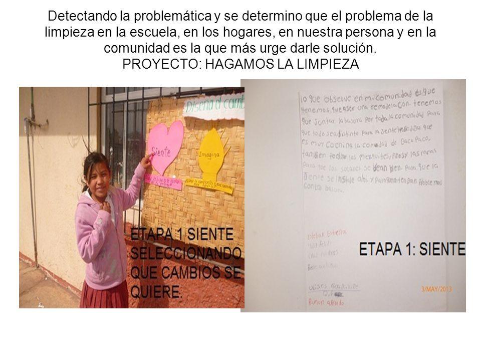 ETAPA 2: IMAGINA En esta etapa, los alumnos mediante una lluvia de ideas proponen estrategias para mejorar el ambiente sobre la problemática que eligieron por lo que mencionan varias actividades a realizar.