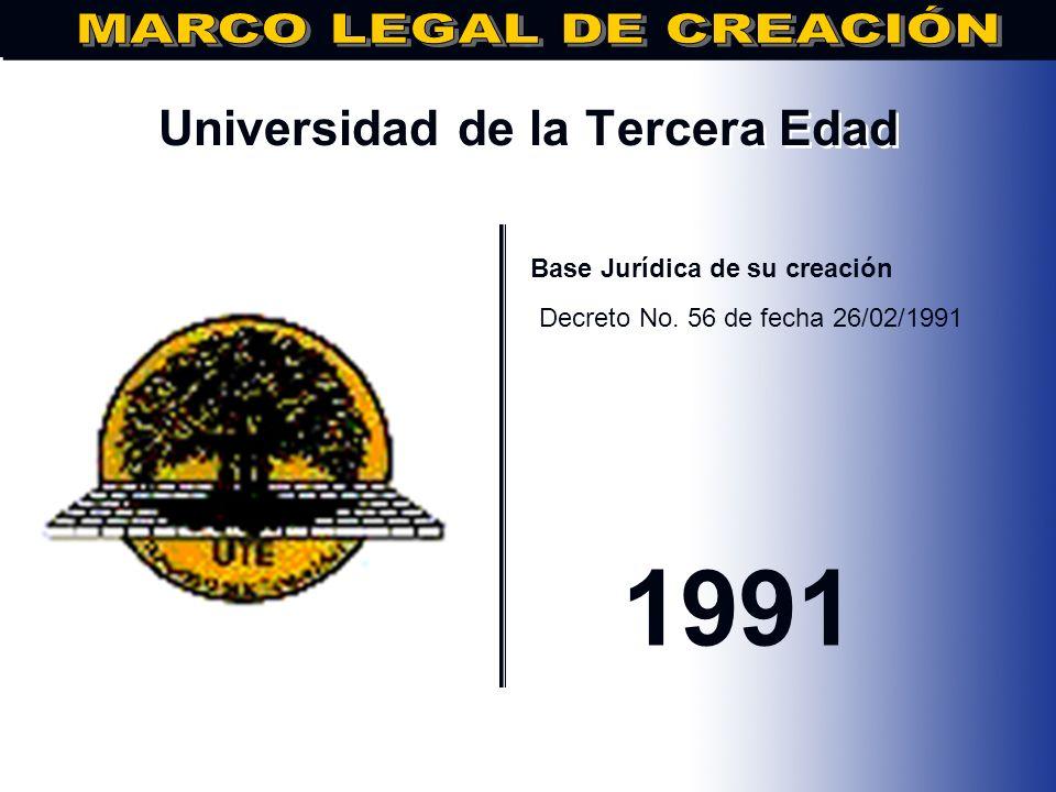 Instituto Cultural Dominico-Americano.. Base Jurídica de su creación DECRETO NO. 226, FECHA: 06/06/1989 1989