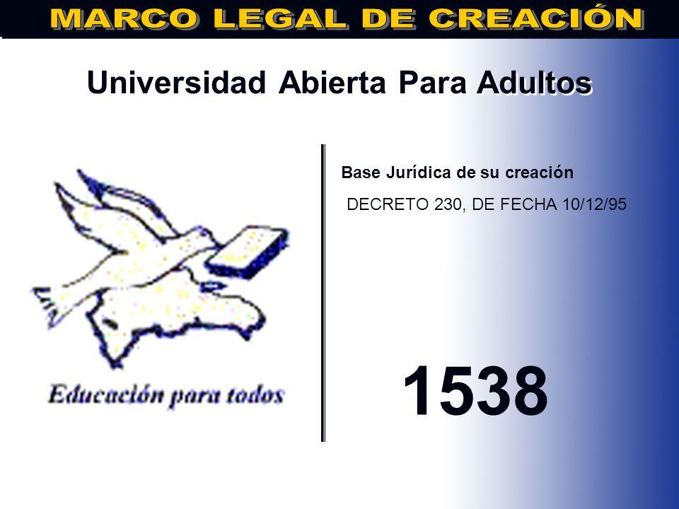Universidad Federico Henríquez y Carvajal.. Base Jurídica de su creación Decreto No. 57-91 de fecha 02/12/1991 1991
