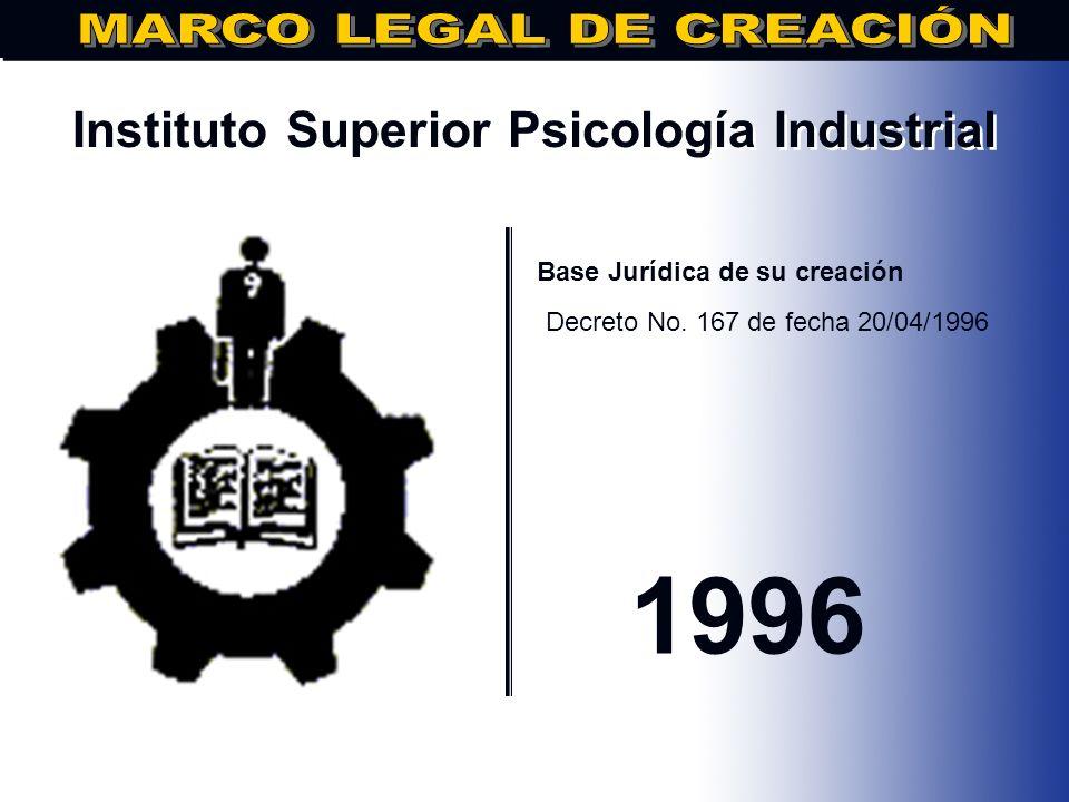 Universidad Abierta Para Adultos.. Base Jurídica de su creación DECRETO 230, DE FECHA 10/12/95 1538