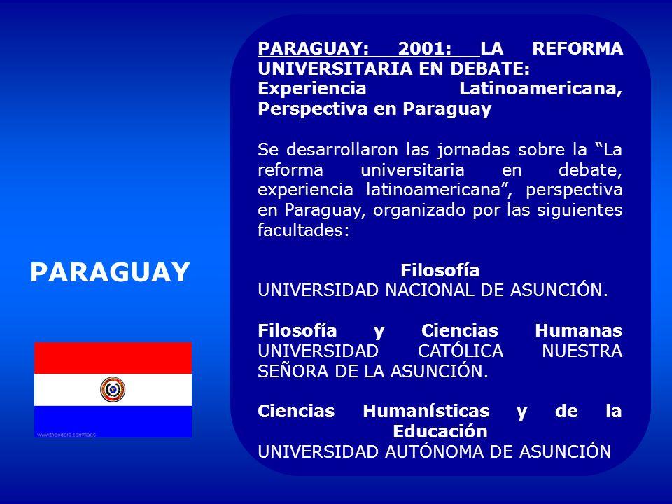 PUERTO RICO CREACIÓN DEL Consejo Nacional de Educación Superior, 1993. 2001 En camino una nueva ley para la Universidad de Puerto Rico. La ley univers