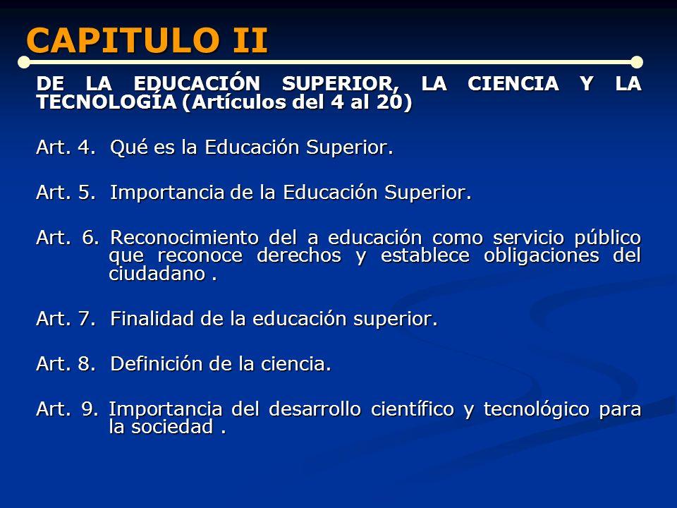 CAPITULO II CAPITULO II