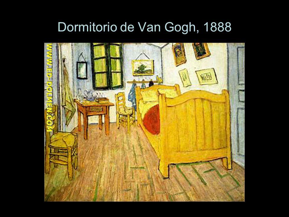 Dormitorio de Van Gogh, 1888