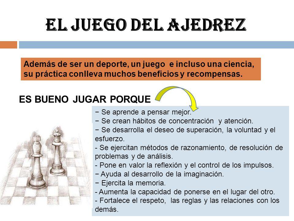 Tablero y posición inicial POSICIÓN DEL TABLERO Y DE LAS PIEZAS El ajedrez se juega en un tablero de 64 casillas.