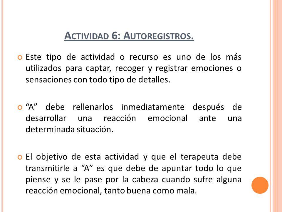 A CTIVIDAD 7: TERMÓMETRO DE EMOCIONAL.