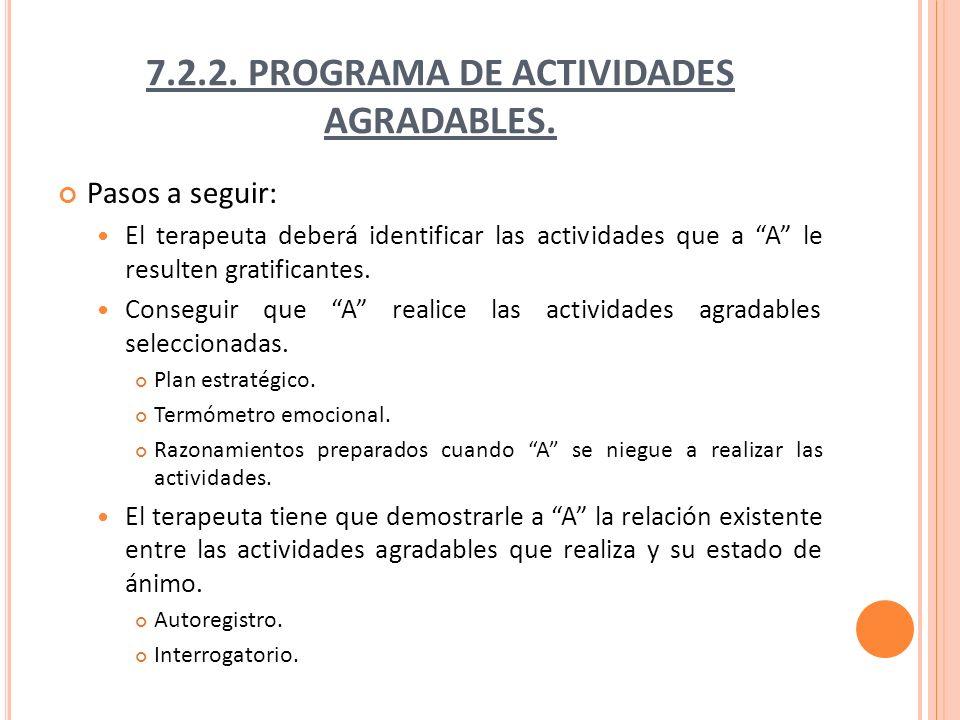 7.2.3.P ROGRAMA DE REESTRUCTURACIÓN COGNITIVA.