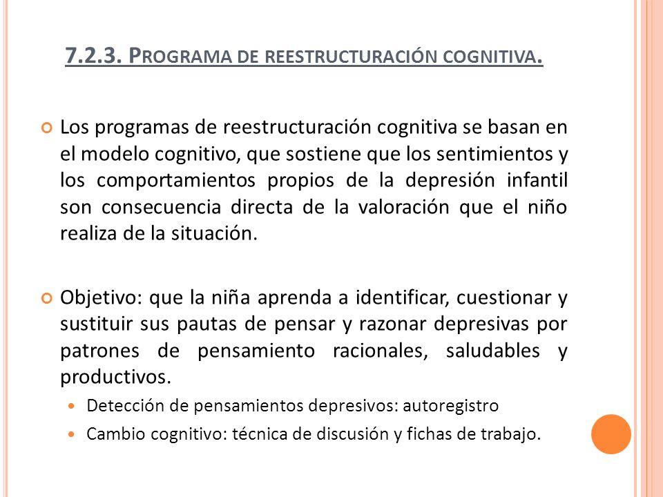 Adversidad Balance cognitivo Consecuencias Pilares del modelo cognitivo.